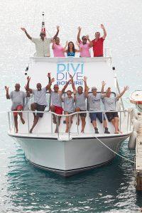 Divi Dive Boats Group Shot