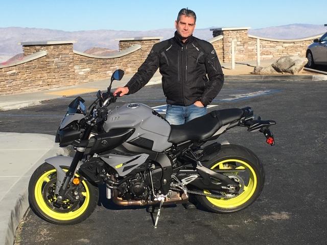 James Motorcycle Tour California