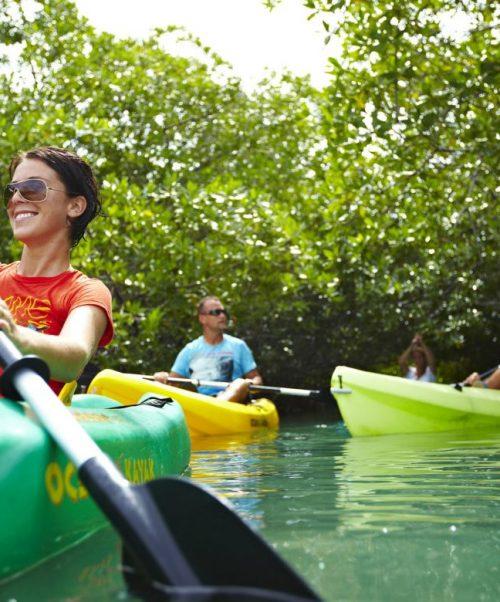 Kayaking in Bonaire