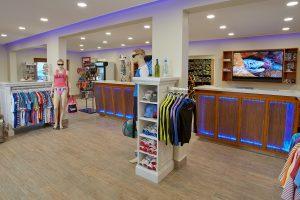 Dive Shop Interior 2