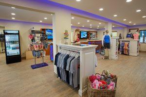 Dive Shop Interior